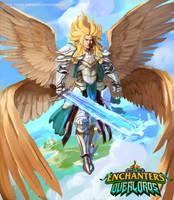 Lukah The Archangel by Kalberoos