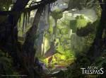 Derezzed Forest