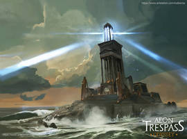 Deadelus Light house by Kalberoos