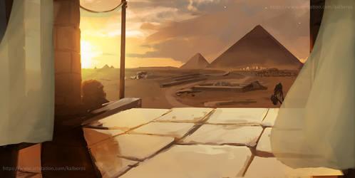 Pyramids by Kalberoos