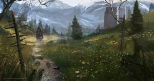 Witcher doodle Procreate