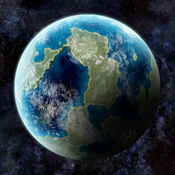 [OPEN] Terran Planet 003 by Planetrix on DeviantArt