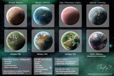 Planetrix's Commission Sheet by Planetrix