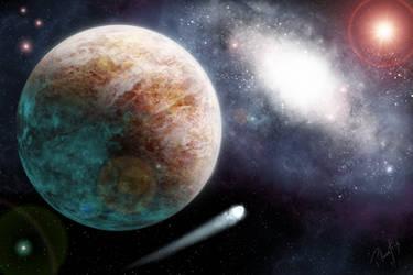 Commission for grantenier: Planet Kylex by Planetrix
