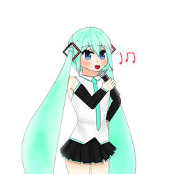 Hatsune Miku (Vocaloid)