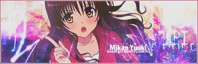 Mikan Yuuki - Signature by KisakuPL