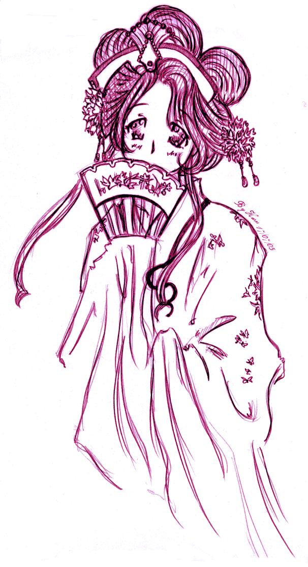 Haru Hime, Geisha by ChibiHaru