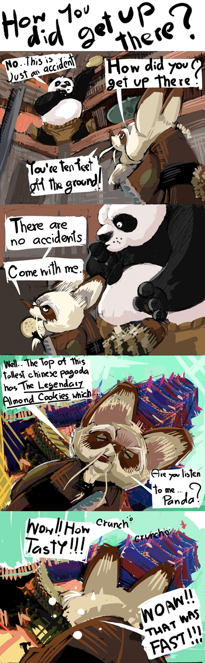 The Gags of Kung Fu Panda - 04 by galgard