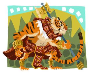 Inca Tiger by galgard