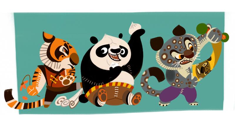 Kung Fu Babies By Galgard