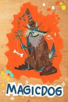 Wizard Wolf by galgard