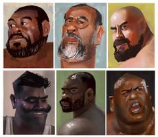 face study by galgard
