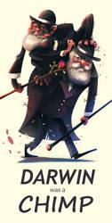 Darwin was a Chimp by galgard