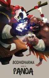 Bohidharma was a Panda by galgard