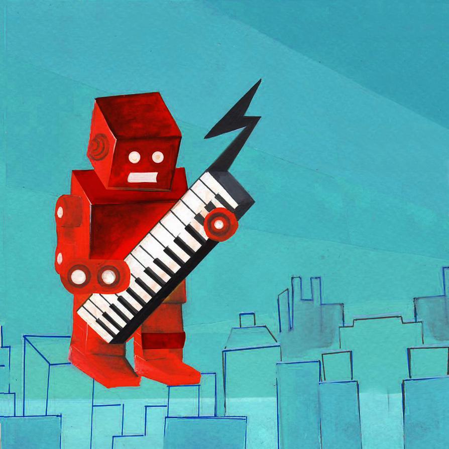 El robot de plastilina 2 by EliMiau