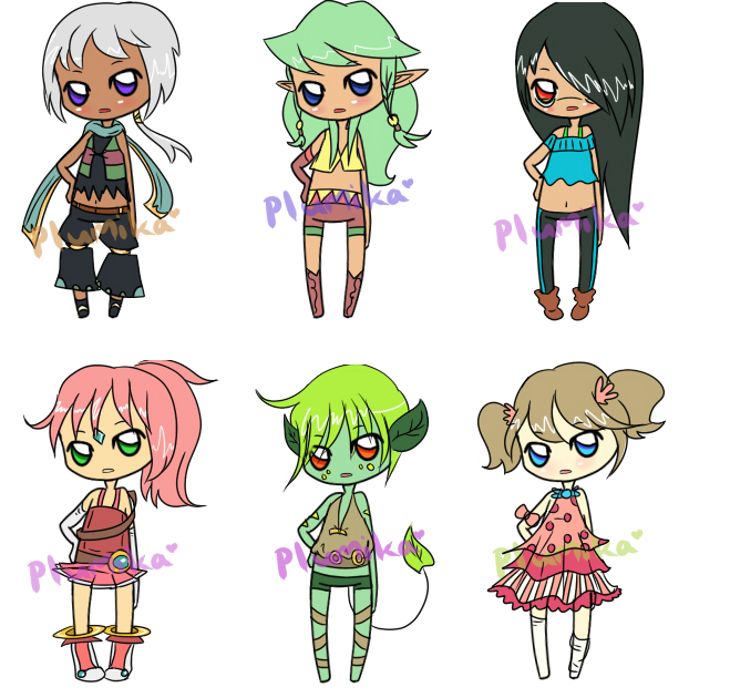 [CLOSED] Offer Adoptables by Ruruuni