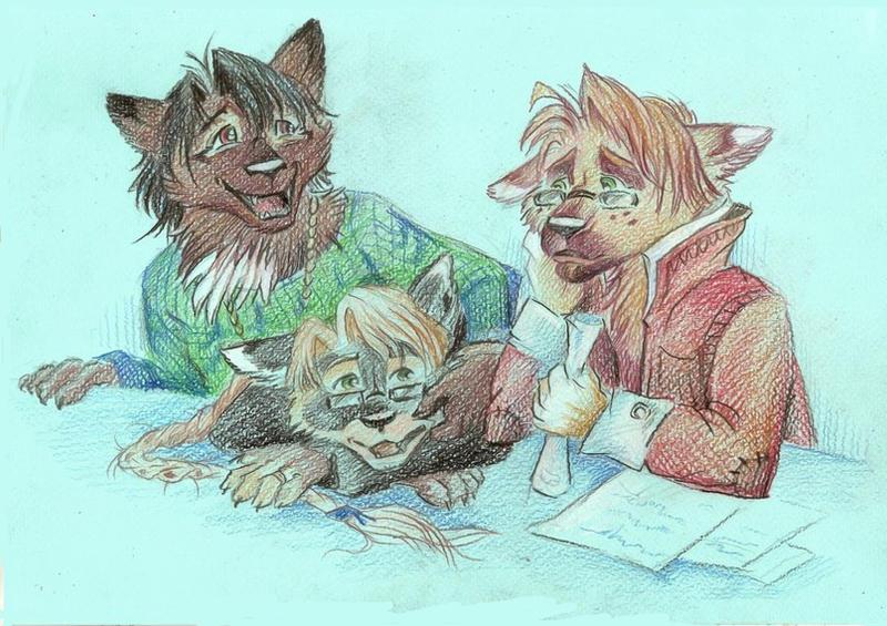 Genro, Taski and Tokhlo by Taski-Guru