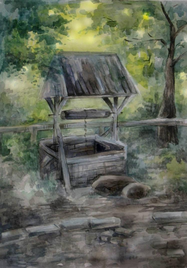 Water Well by Taski-Guru