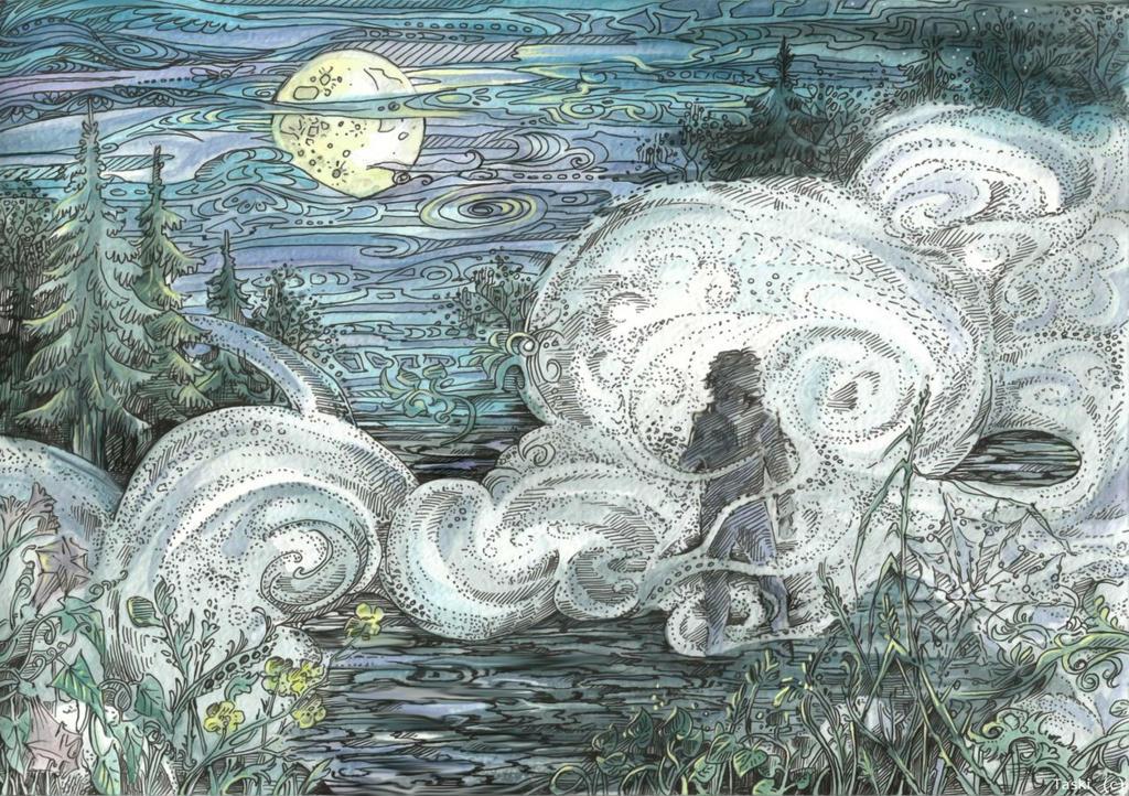 Through the Mists by Taski-Guru