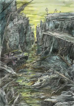 Ghost Town by Taski-Guru