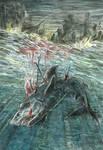 Shark's compassion by Taski-Guru