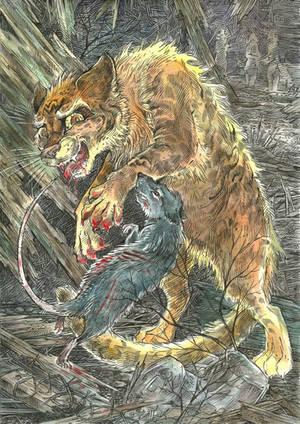 Cat's cruelty by Taski-Guru