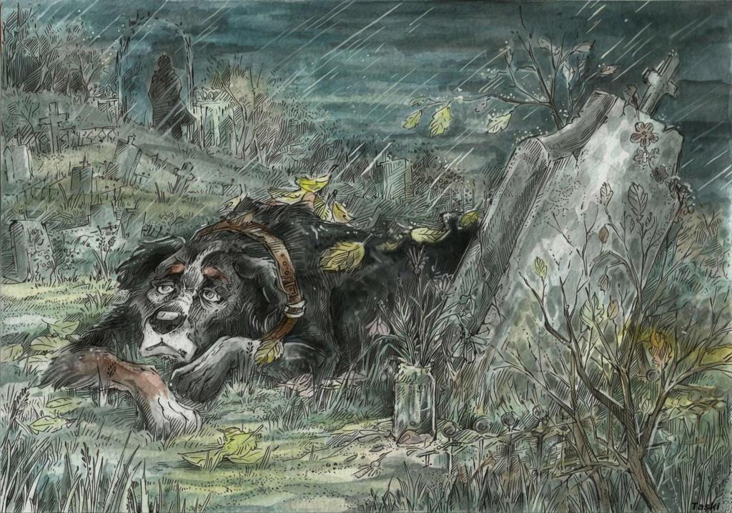Dog's fate by Taski-Guru