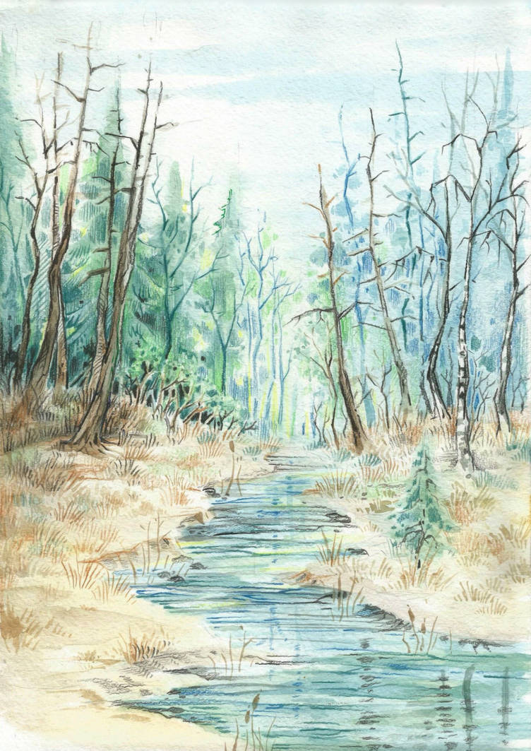 River by Taski-Guru