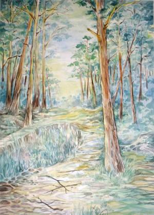 Morning Pines by Taski-Guru