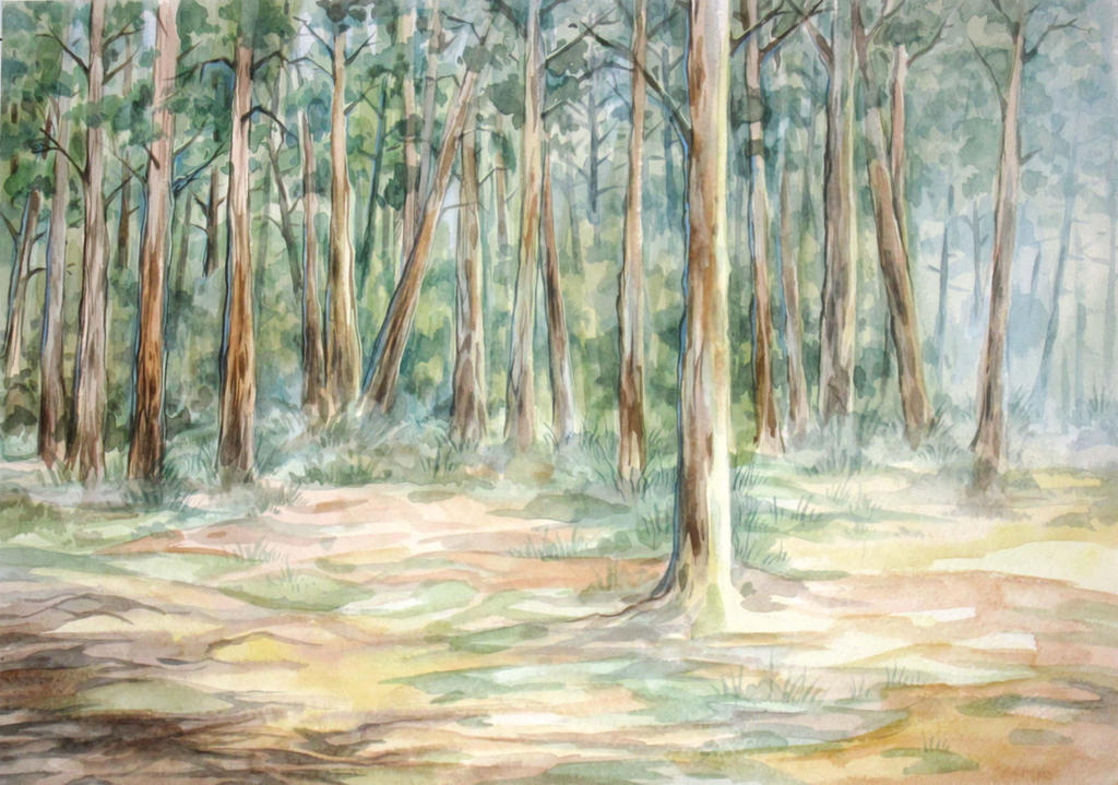 Sunny Pines by Taski-Guru
