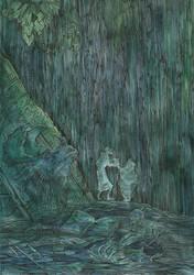 Sorcerer and Witch by Taski-Guru