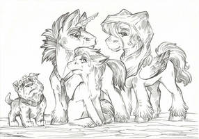 Free Line Art #2 by Taski-Guru