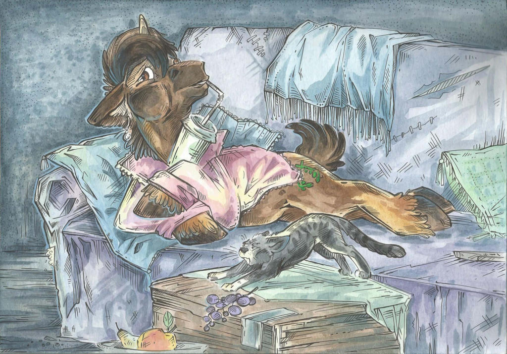 Lazy Evening by Taski-Guru