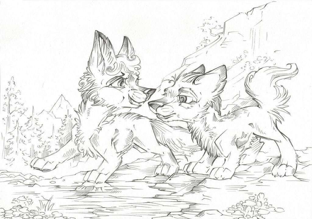 Free Line Art #11 by Taski-Guru