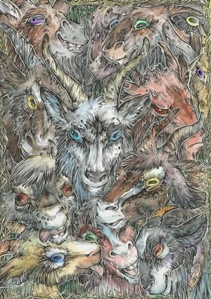 THIS IS... Goats! by Taski-Guru