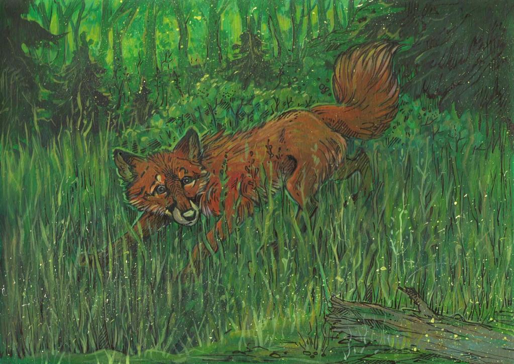 Silent Hunter by Taski-Guru
