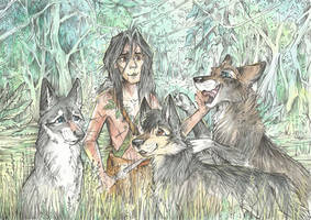 Mowgli and his Brothers