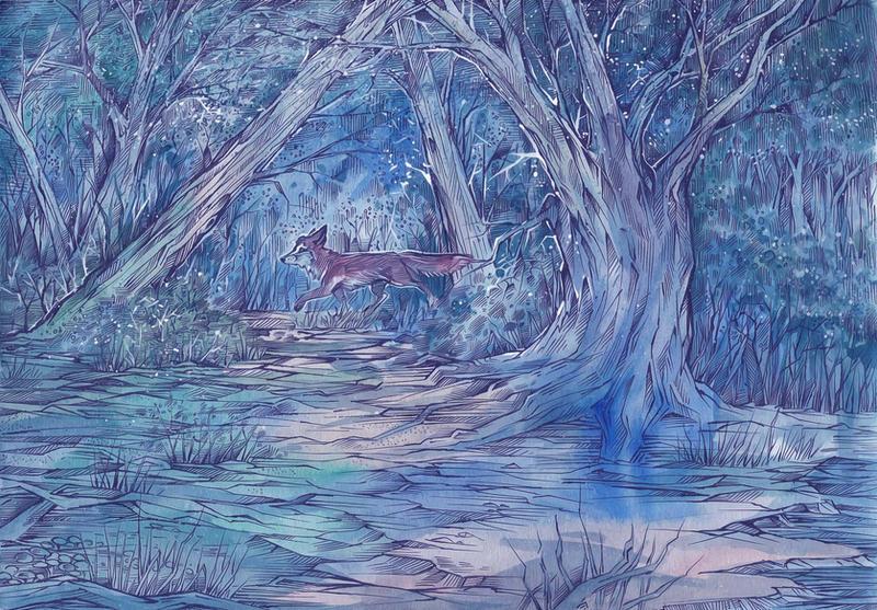 Mystical Forest by Taski-Guru