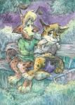 Bonkers and Lunatic by Taski-Guru