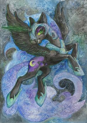 Nightmare Moon by Taski-Guru
