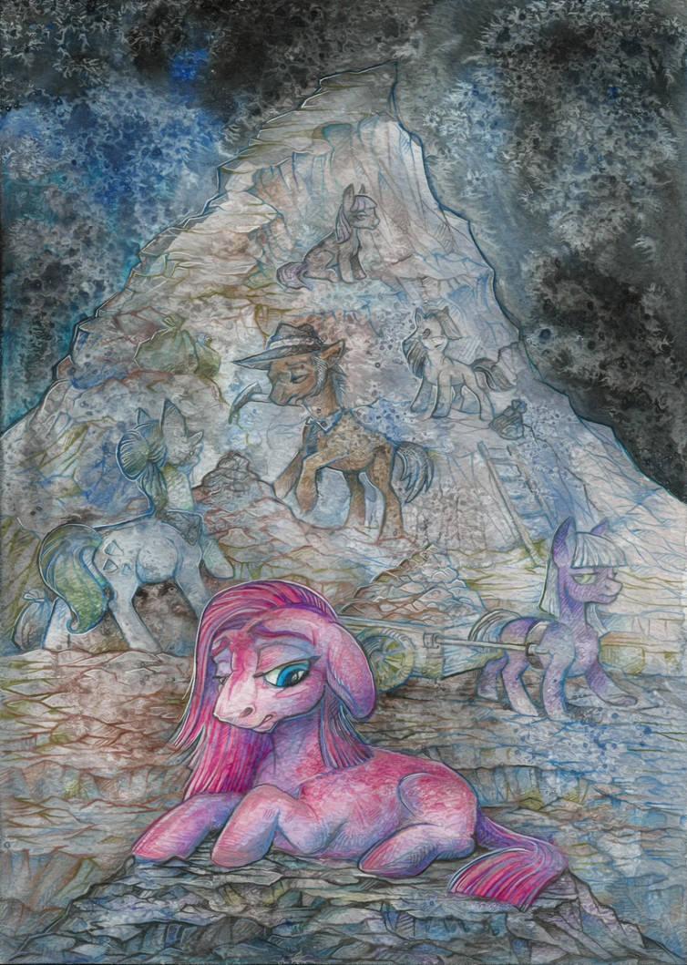 Rock depression by Taski-Guru