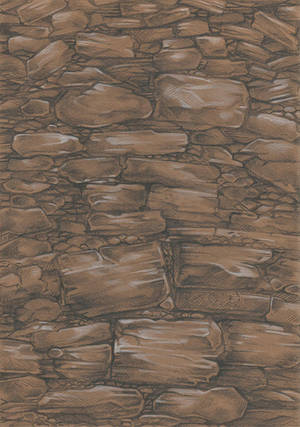 Stone Wall by Taski-Guru