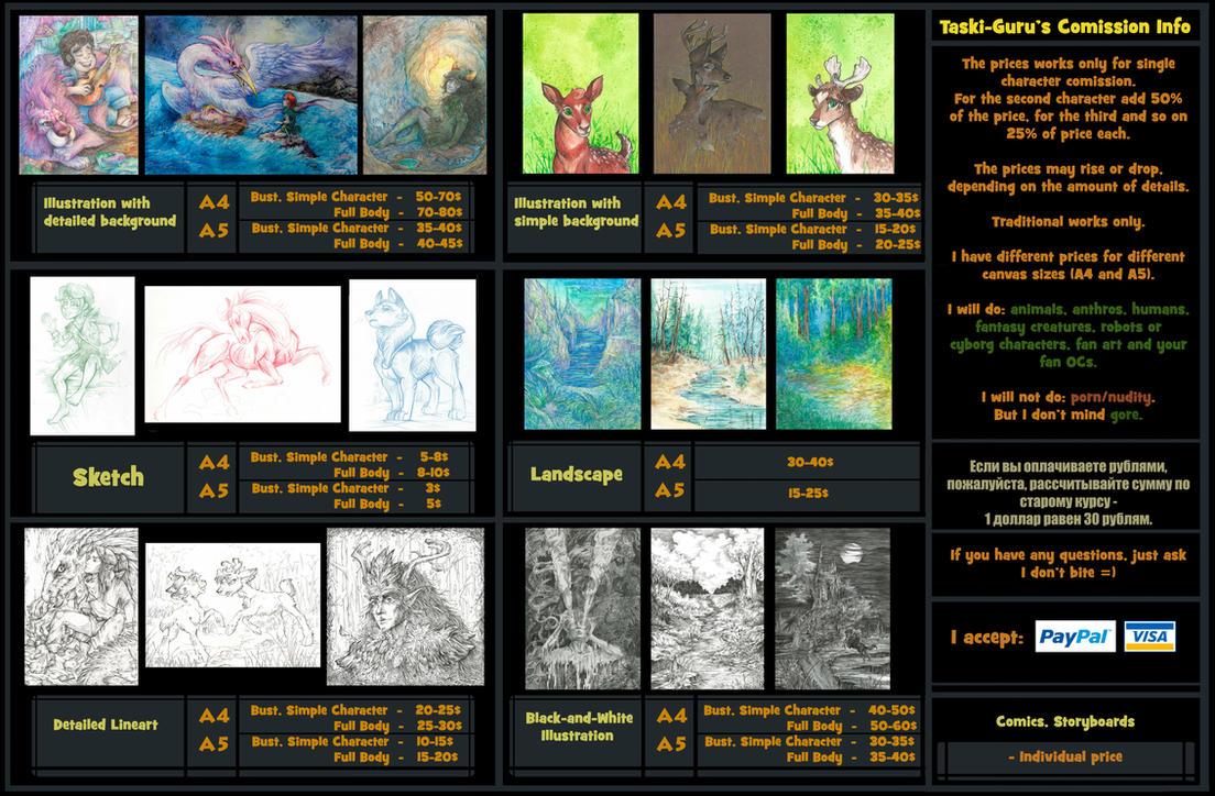 Taski-Guru's Commission Info by Taski-Guru