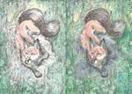Khaliferaz the Fox (Art Process) by Taski-Guru