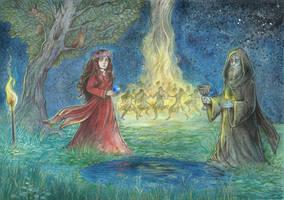 Witches' Sabbath by Taski-Guru