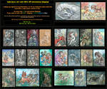 Art sale! (35$ for piece) International shipping! by Taski-Guru