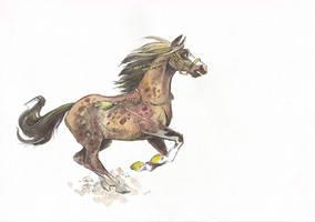 Horse Adopt #4 (only 6$) [SOLD] by Taski-Guru