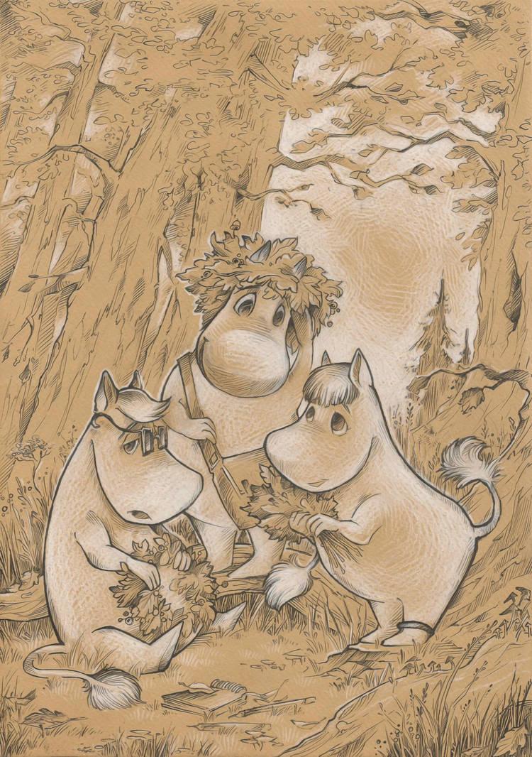 Autumn in the Moominvalley by Taski-Guru