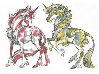 Unicorn (Siblings) Adopt #45 (10$) [SOLD]
