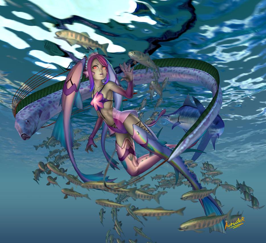 Little Sea Lady 0.5 by auruster